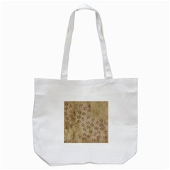 Parchment Paper Old Leaves Leaf Tote Bag (white)