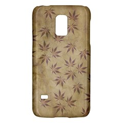 Parchment Paper Old Leaves Leaf Galaxy S5 Mini