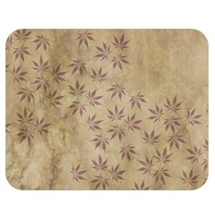 Parchment Paper Old Leaves Leaf Double Sided Flano Blanket (medium)  by Nexatart