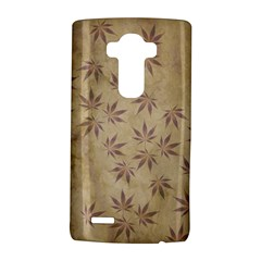 Parchment Paper Old Leaves Leaf Lg G4 Hardshell Case by Nexatart