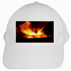 Fire Rays Mystical Burn Atmosphere White Cap by Nexatart