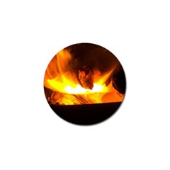 Fire Rays Mystical Burn Atmosphere Golf Ball Marker (10 Pack)