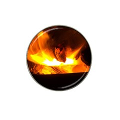 Fire Rays Mystical Burn Atmosphere Hat Clip Ball Marker (4 Pack) by Nexatart