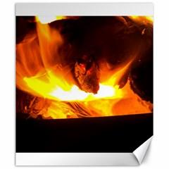 Fire Rays Mystical Burn Atmosphere Canvas 20  X 24