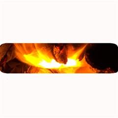 Fire Rays Mystical Burn Atmosphere Large Bar Mats by Nexatart