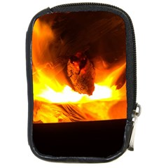 Fire Rays Mystical Burn Atmosphere Compact Camera Cases by Nexatart