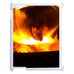 Fire Rays Mystical Burn Atmosphere Apple Ipad 2 Case (white) by Nexatart