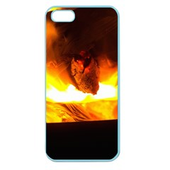 Fire Rays Mystical Burn Atmosphere Apple Seamless Iphone 5 Case (color)