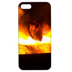 Fire Rays Mystical Burn Atmosphere Apple Iphone 5 Hardshell Case With Stand