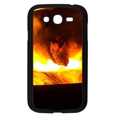 Fire Rays Mystical Burn Atmosphere Samsung Galaxy Grand Duos I9082 Case (black)