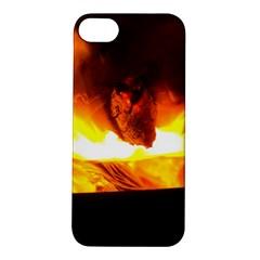 Fire Rays Mystical Burn Atmosphere Apple Iphone 5s/ Se Hardshell Case by Nexatart