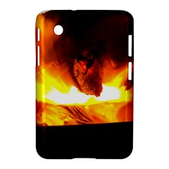 Fire Rays Mystical Burn Atmosphere Samsung Galaxy Tab 2 (7 ) P3100 Hardshell Case  by Nexatart