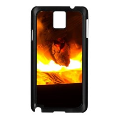 Fire Rays Mystical Burn Atmosphere Samsung Galaxy Note 3 N9005 Case (black) by Nexatart