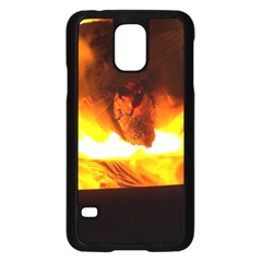 Fire Rays Mystical Burn Atmosphere Samsung Galaxy S5 Case (black)