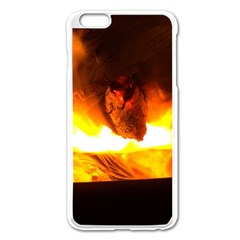 Fire Rays Mystical Burn Atmosphere Apple Iphone 6 Plus/6s Plus Enamel White Case