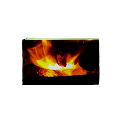 Fire Rays Mystical Burn Atmosphere Cosmetic Bag (xs)