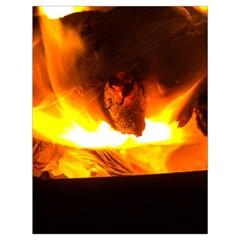 Fire Rays Mystical Burn Atmosphere Drawstring Bag (large) by Nexatart