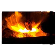 Fire Rays Mystical Burn Atmosphere Apple Ipad Pro 12 9   Flip Case