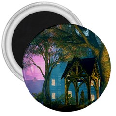 Background Forest Trees Nature 3  Magnets