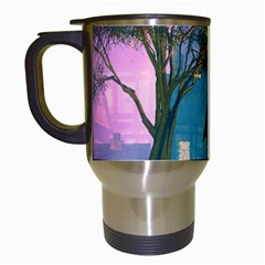 Background Forest Trees Nature Travel Mugs (white)