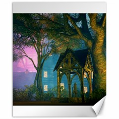 Background Forest Trees Nature Canvas 16  X 20