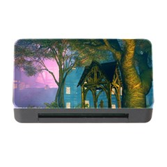 Background Forest Trees Nature Memory Card Reader With Cf