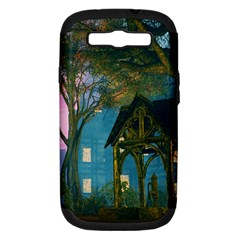 Background Forest Trees Nature Samsung Galaxy S Iii Hardshell Case (pc+silicone)