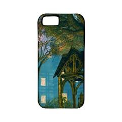 Background Forest Trees Nature Apple Iphone 5 Classic Hardshell Case (pc+silicone) by Nexatart