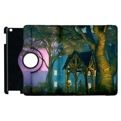 Background Forest Trees Nature Apple Ipad 2 Flip 360 Case by Nexatart