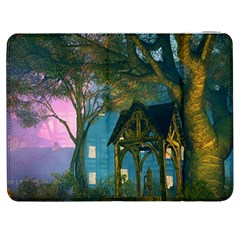 Background Forest Trees Nature Samsung Galaxy Tab 7  P1000 Flip Case