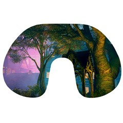 Background Forest Trees Nature Travel Neck Pillows