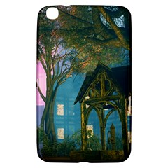 Background Forest Trees Nature Samsung Galaxy Tab 3 (8 ) T3100 Hardshell Case  by Nexatart