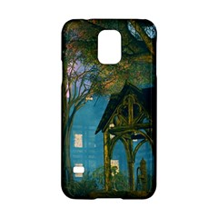 Background Forest Trees Nature Samsung Galaxy S5 Hardshell Case  by Nexatart