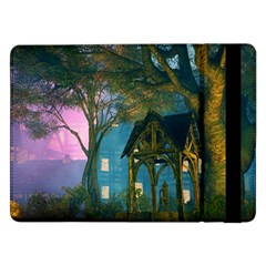 Background Forest Trees Nature Samsung Galaxy Tab Pro 12 2  Flip Case
