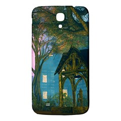 Background Forest Trees Nature Samsung Galaxy Mega I9200 Hardshell Back Case by Nexatart