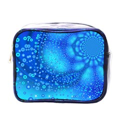 Bokeh Background Light Reflections Mini Toiletries Bags