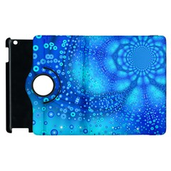 Bokeh Background Light Reflections Apple Ipad 2 Flip 360 Case by Nexatart