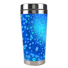 Bokeh Background Light Reflections Stainless Steel Travel Tumblers by Nexatart