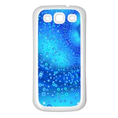 Bokeh Background Light Reflections Samsung Galaxy S3 Back Case (white)