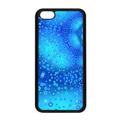 Bokeh Background Light Reflections Apple Iphone 5c Seamless Case (black)