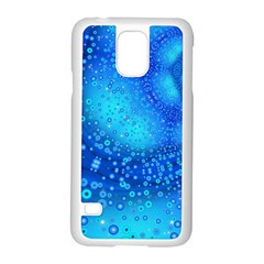 Bokeh Background Light Reflections Samsung Galaxy S5 Case (white) by Nexatart