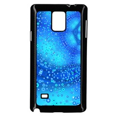 Bokeh Background Light Reflections Samsung Galaxy Note 4 Case (black)