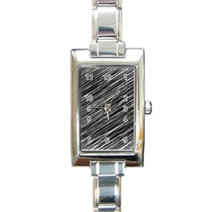 Background Structure Pattern Rectangle Italian Charm Watch by Nexatart
