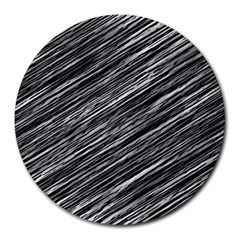 Background Structure Pattern Round Mousepads