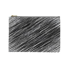 Background Structure Pattern Cosmetic Bag (large)  by Nexatart