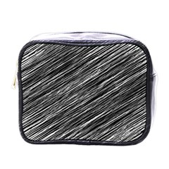 Background Structure Pattern Mini Toiletries Bags