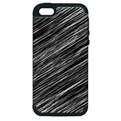 Background Structure Pattern Apple Iphone 5 Hardshell Case (pc+silicone)