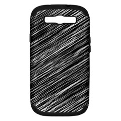 Background Structure Pattern Samsung Galaxy S Iii Hardshell Case (pc+silicone)