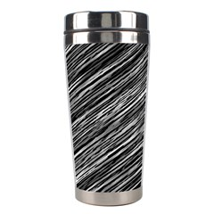 Background Structure Pattern Stainless Steel Travel Tumblers