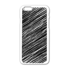 Background Structure Pattern Apple Iphone 6/6s White Enamel Case